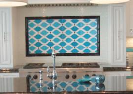 Beach Home Kitchen Backsplash