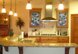 Koi Cabinet Door Panels
