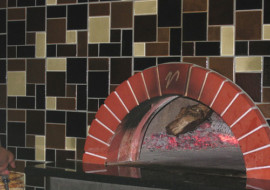 Custom Glass Tiles, Panels and Walls for Italian Restaurant