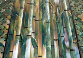 """Bamboo"" Backsplash"