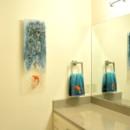 Fused Glass Panels (Wisteria & Koi)