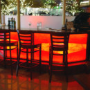 Stained Glass Bar Lighting