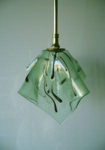 Green organic pendant