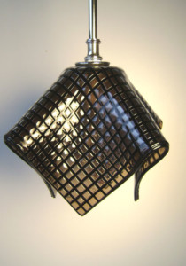 Fused Glass Pendant Light