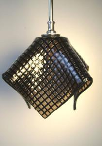 Fused Glass Pendant Light