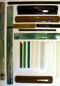 Custom Glass Border Tiles