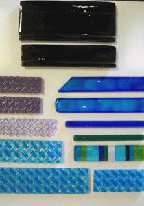 Custom Glass Border Tiles