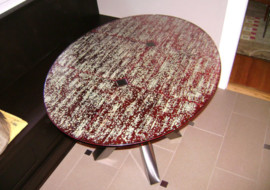 Fused Glass Table Top