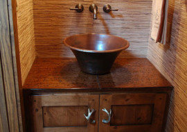 Mountain Home Vanity Top