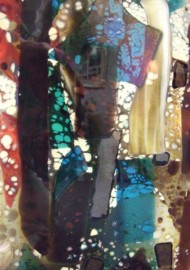 Fused Glass Abstract Panels