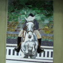 Fused and Mosaic Glass Mural