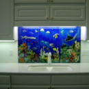 Diving Enthusiast Kitchen Backsplash