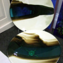 Fused Glass Shallow Bowls