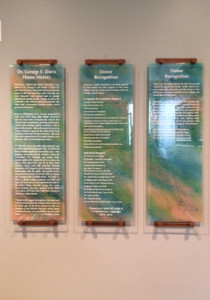 Glass Donor Recognition Panels