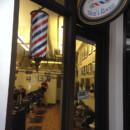 Fused Glass Barber Pole