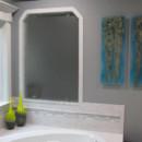 "Fused Glass Murals ""Blue Rainforest"""