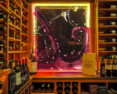 Glass Tile Mural (Wine Cellar)