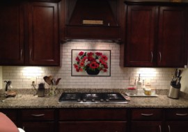 Poppy Kitchen Backsplash