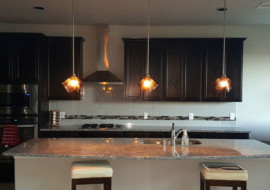 Glass Pendant Lights (Squares)