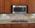 Stained Glass Kitchen Backsplash