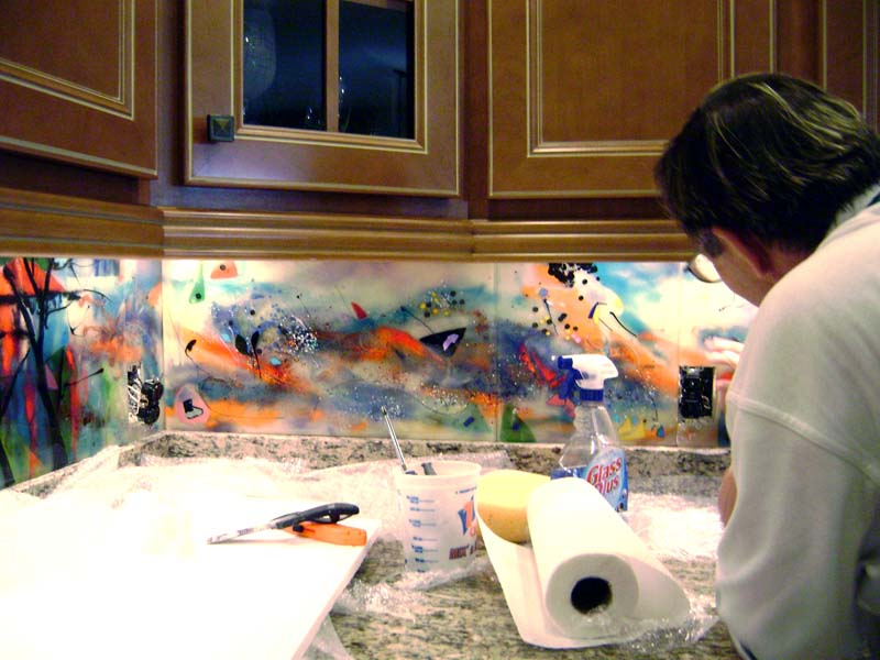Kitchen Backsplash Art exellent kitchen backsplash art to decor