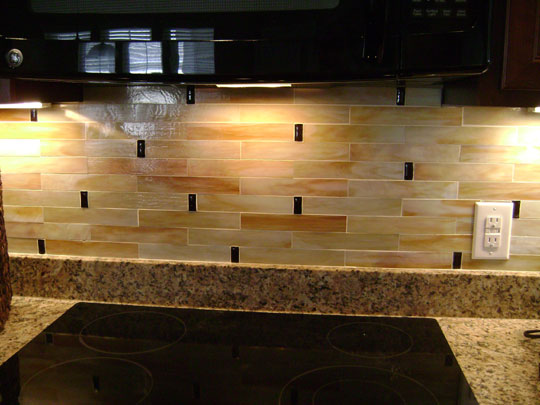 Stained glass mosaic tile kitchen backsplash designer for Glass tile kitchen backsplash ideas