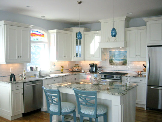 Beach Themed Kitchen Backsplash Quot Path To The Beach
