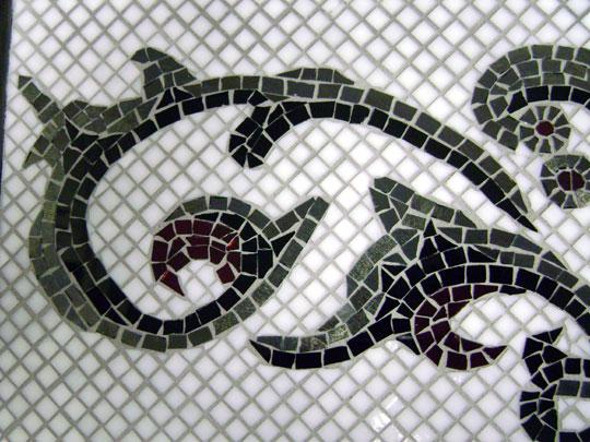 Fleur De Lis Designer Gl Mosaics