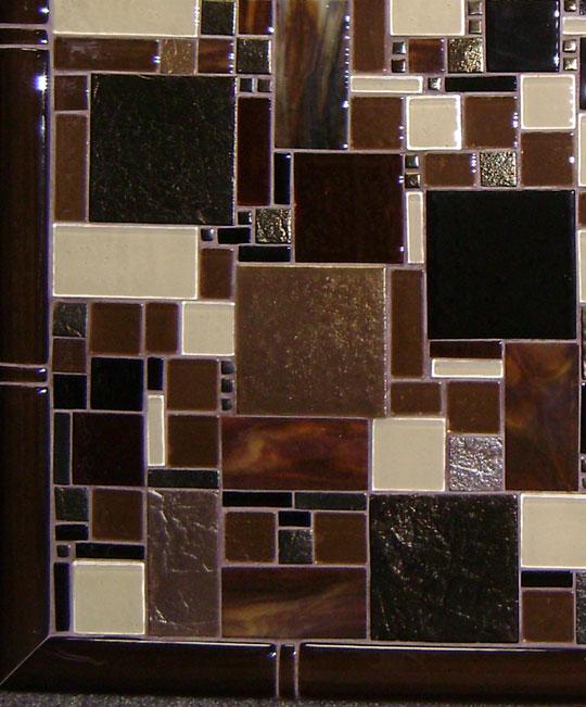 Mountain Home Kitchen Backsplash Designer Glass Mosaics