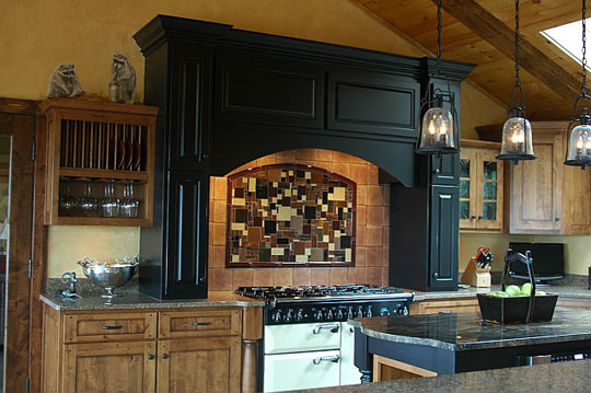 Mountain Home Kitchen Backsplash Designer Glass Mosaics