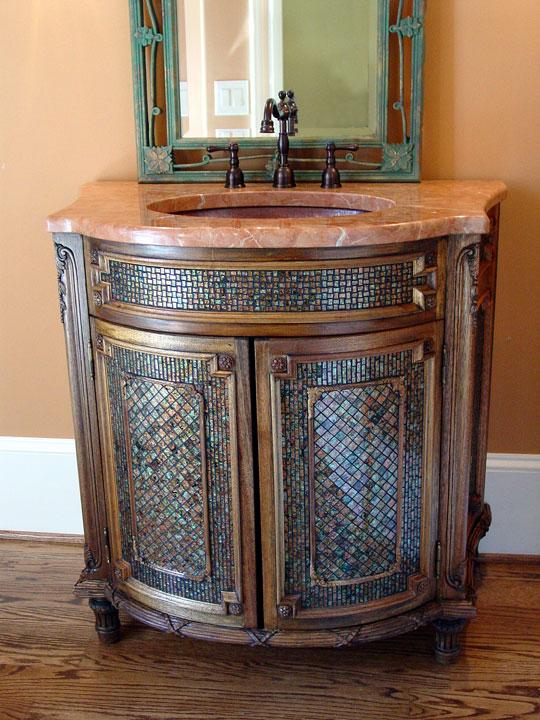 Vanity Designer Glass Mosaics