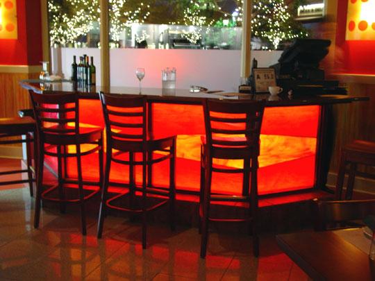 Stained Gl Bar Lighting Designer Mosaics