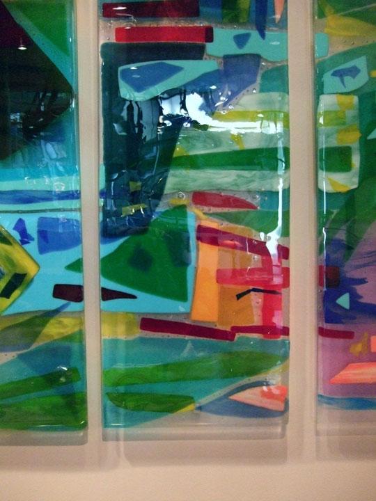 Quot Charleston Harbor Quot Fused Glass Art Panels Designer