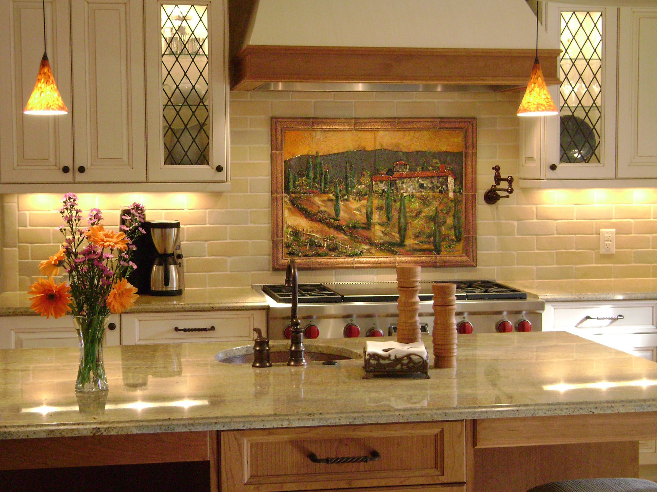 Glass Murals And Panels Fused And Mosaic Glass Tile