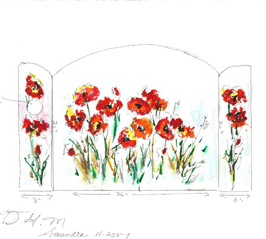backsplash-poppies-sketch