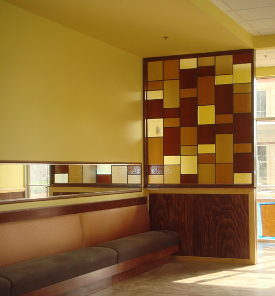 Custom Glass Tiles, Panels and Walls for Italian Restaurant