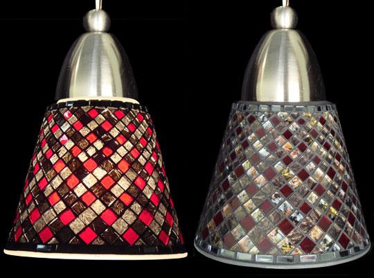 Mosaic Pendant Lamp Shades