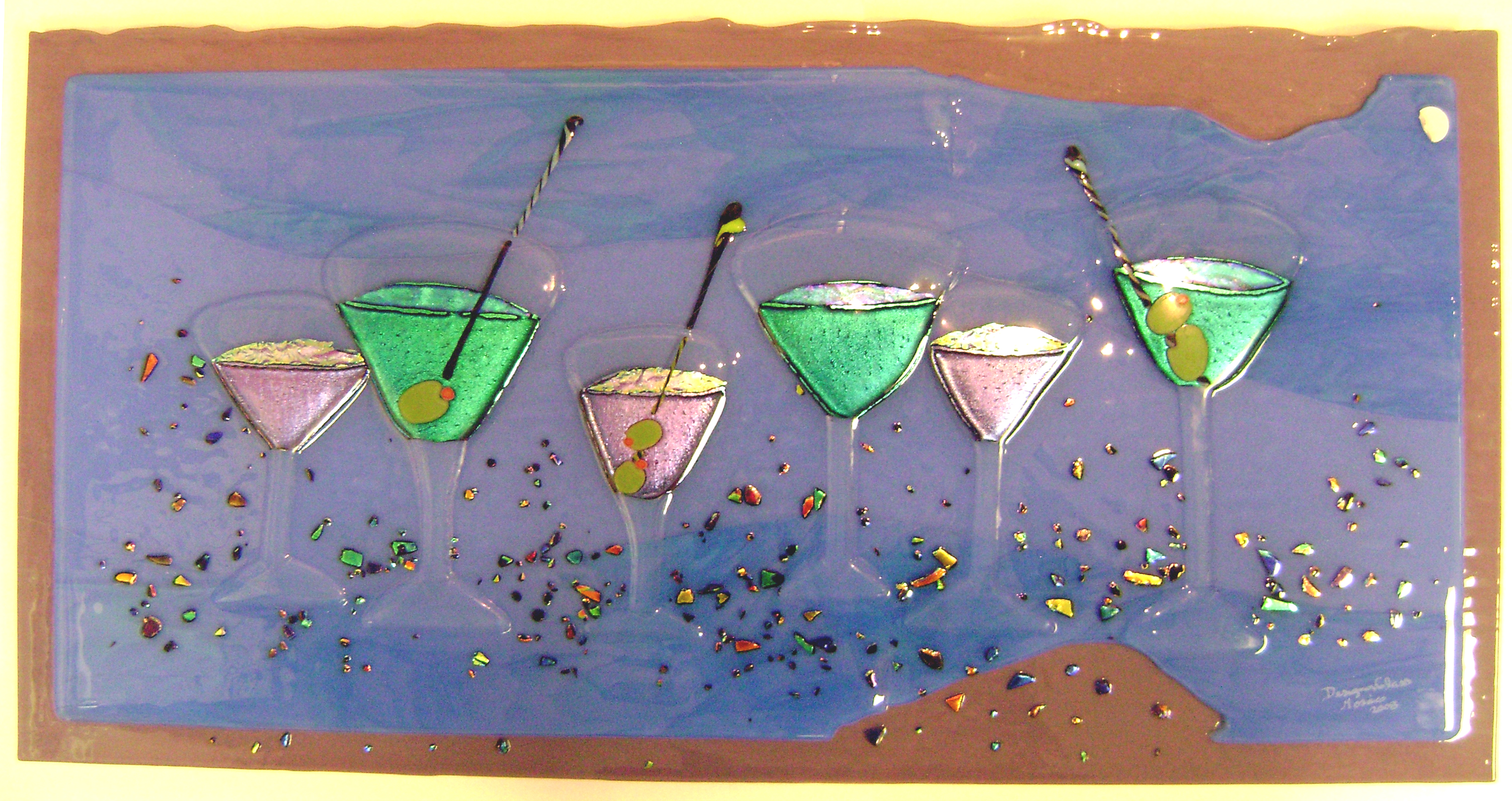 """Martini """"Party Time"""" Panel"""