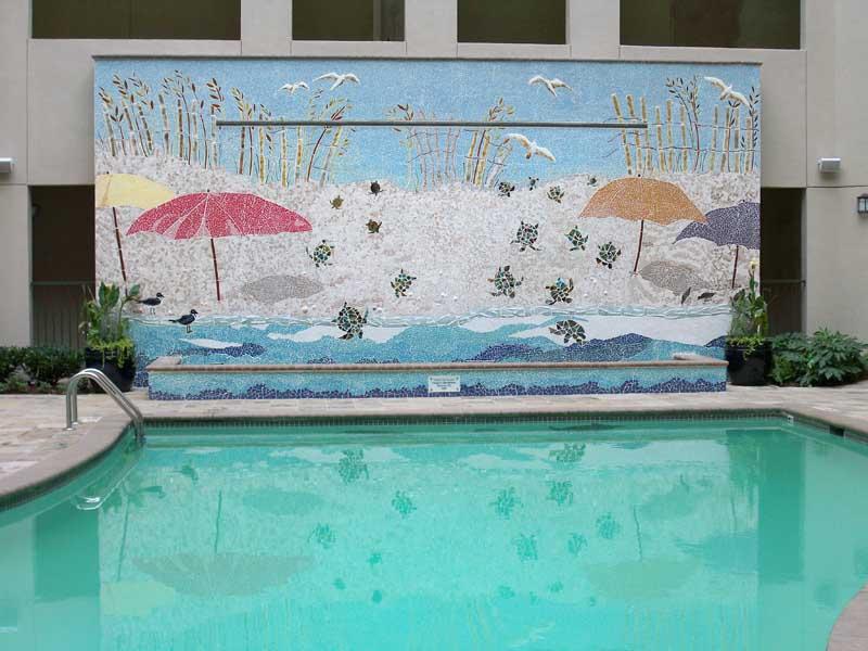 Mosaic Waterwall