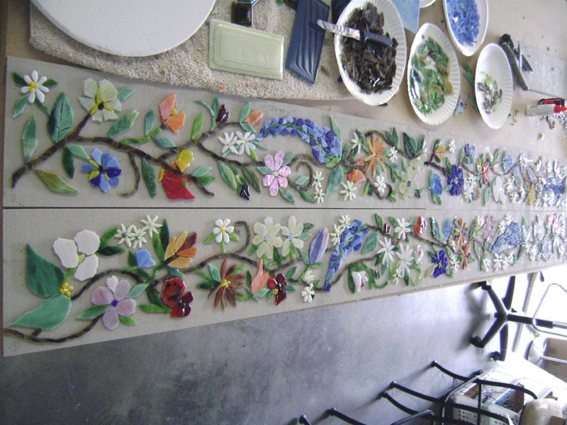tuscan kitchen wall border