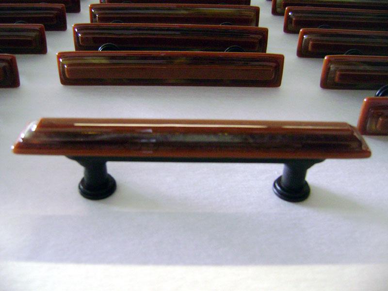 Fused Glass Cabinet Pulls Designer Glass Mosaics