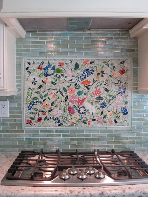 designer glass mosaics kitchen backsplash designer