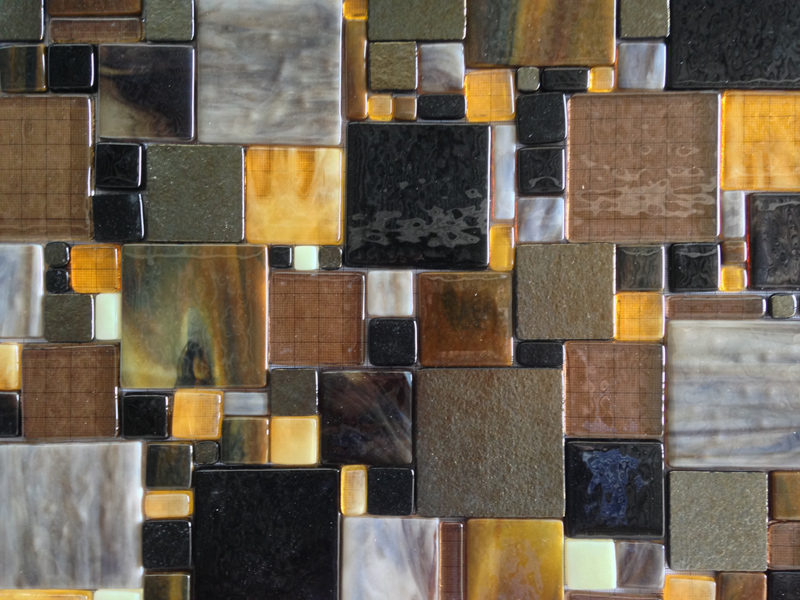 We Were Commissioned By A Realty Company In Colorado To Create This Fused Glass Mosaic Art Piece For Their Client S Kitchen Backsplash
