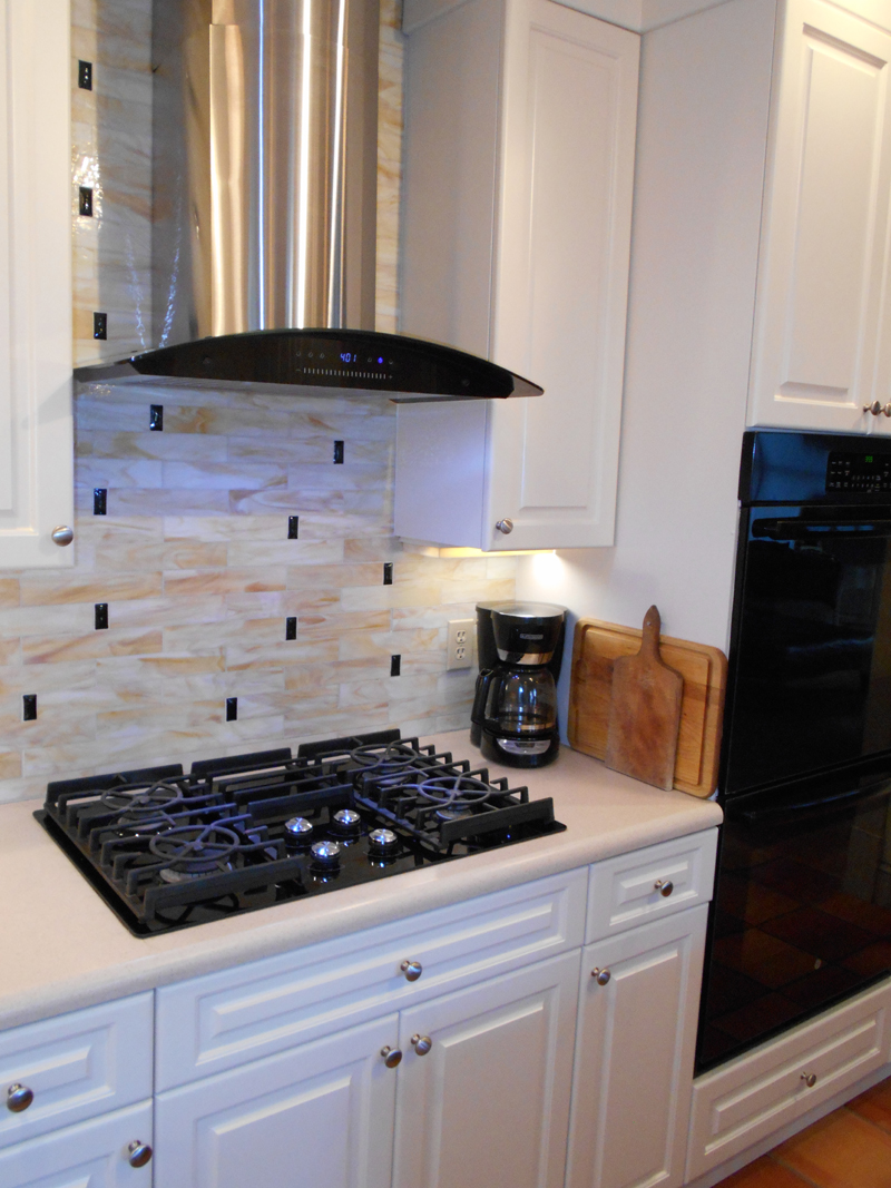 kitchen with glass tile backsplash stained glass tile backsplash designer glass mosaics 8750