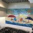 Glass Mosaic Beach Mural
